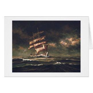 "Paul McGehee ""Stormy Passage"" Card"