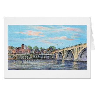 "Paul McGehee tarjeta ""de la costa de Georgetown"""