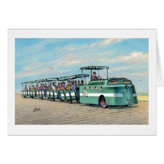 "Paul McGehee tarjeta ""del tren del paseo marítimo"""