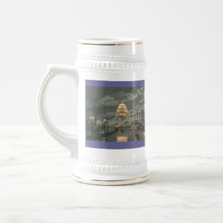 "Paul McGehee ""The Capitol by Moonlight"" Beer Stein"