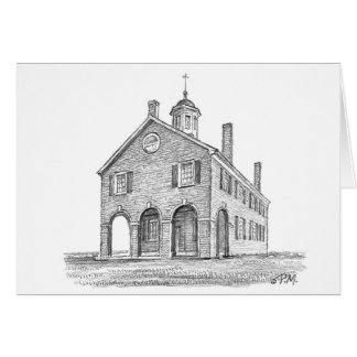 "Paul McGehee ""The Fairfax Courthouse"" Card"