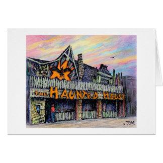 "Paul McGehee ""The Haunted House"" Card"