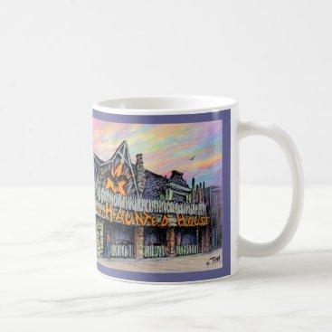 "Beach Themed Paul McGehee ""The Haunted House"" Mug"