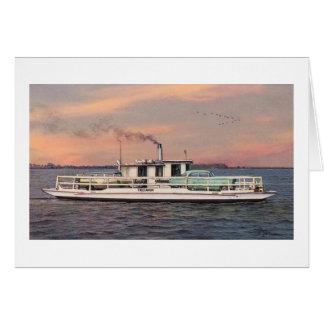 "Paul McGehee ""The Oxford-Bellevue Ferry"" Card"