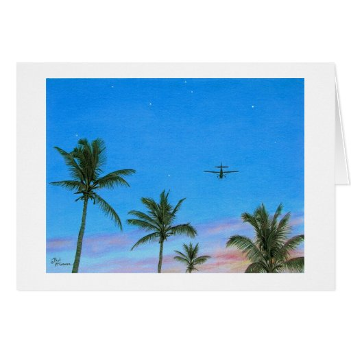 "Paul McGehee ""Treetop Flyer"" Card"