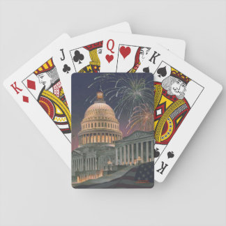 """Paul McGehee """"US Capitol"""" Playing Cards"""