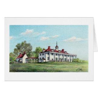 Paul McGehee Washington s Mount Vernon Card