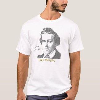 Paul Morphy, Chess Champion T-Shirt