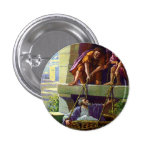 paul preaching button 1 inch round button