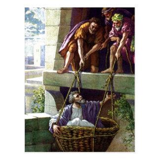 paul preaching christ postcard
