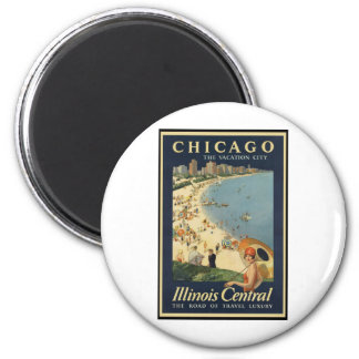 Paul Proehl Chicago Vacation City Refrigerator Magnet