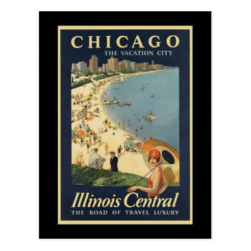 Paul Proehl Chicago Vacation City Post Card