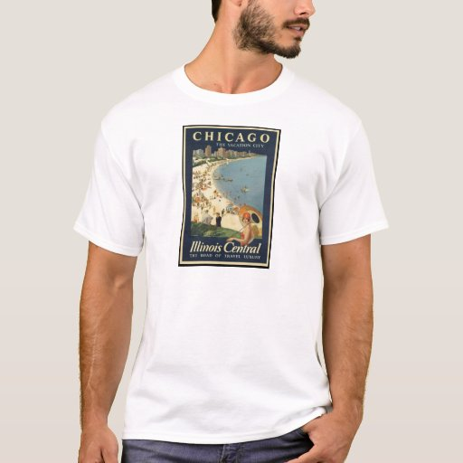 Paul Proehl Chicago Vacation City T-Shirt