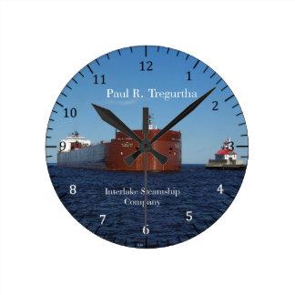 Paul R. Tregurtha Duluth clock