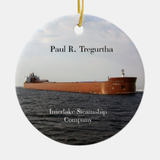 Paul R Tregurtha ornament
