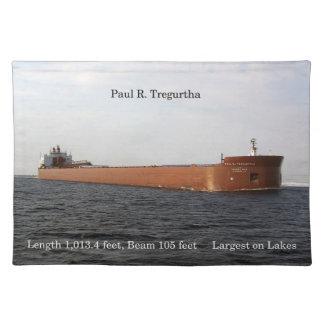 Paul R. Tregurtha placemat