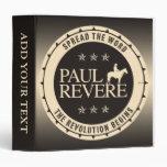 Paul Revere 3 Ring Binder