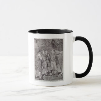 Paul Revere at Lexington Mug