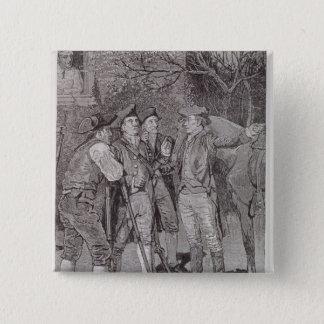 Paul Revere at Lexington Pinback Button