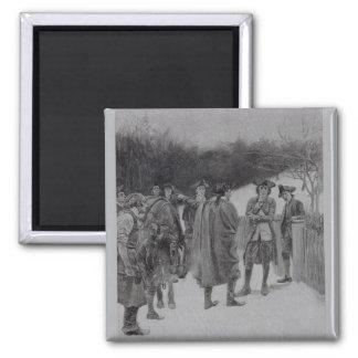 Paul Revere Bringing News to Sullivan Magnet