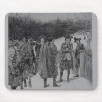 Paul Revere Bringing News to Sullivan Mouse Pad