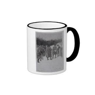 Paul Revere Bringing News to Sullivan Coffee Mugs