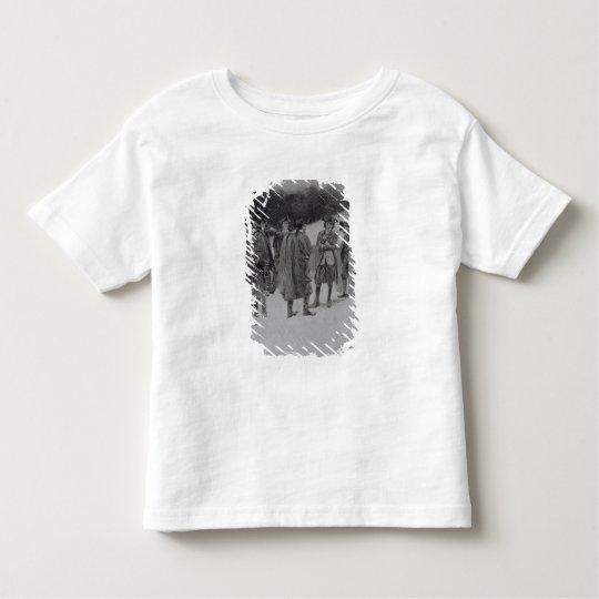 Paul Revere Bringing News to Sullivan Toddler T-shirt