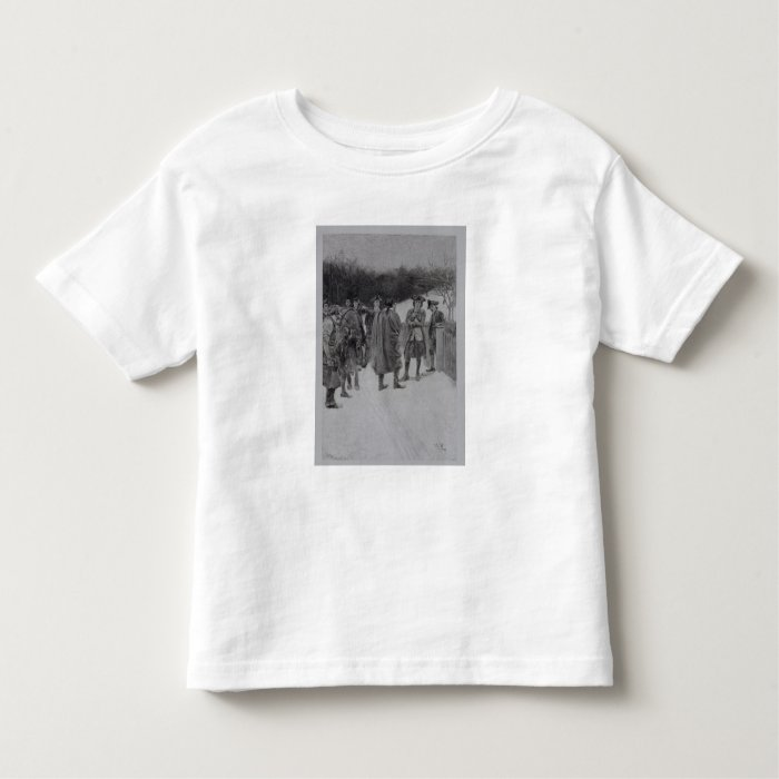 Paul Revere Bringing News to Sullivan Toddler T-shirt