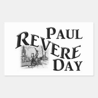 Paul Revere Day Rectangular Sticker