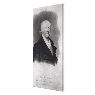 Paul Revere, 'de Nueva Inglaterra Magazine Impresión En Lona