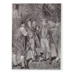 Paul Revere en Lexington Postales