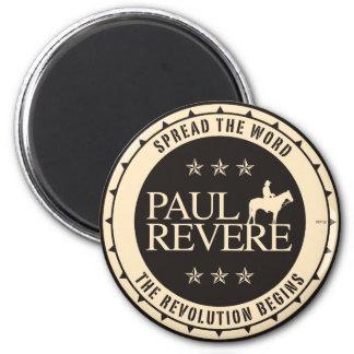 Paul Revere Imán Redondo 5 Cm