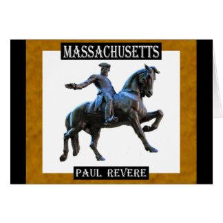 Paul Revere (Massachusetts) Card