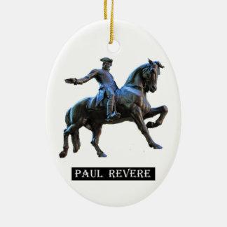 Paul Revere (Massachusetts) Ceramic Ornament