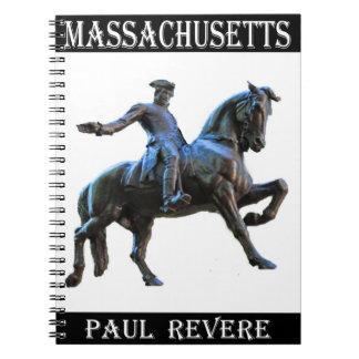 Paul Revere (Massachusetts) Spiral Notebook