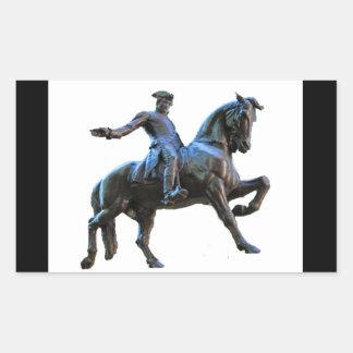 Paul Revere (Massachusetts) Rectangular Sticker