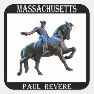 Paul Revere (Massachusetts) Square Sticker