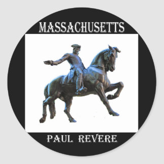 Paul Revere (Massachusetts) Round Sticker