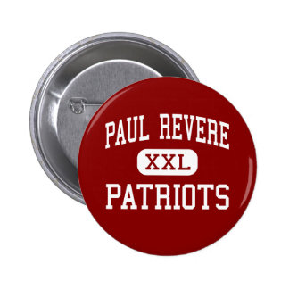 Paul Revere - patriotas - centro - Houston Tejas Pins