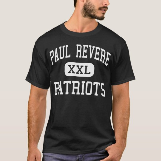 Paul Revere - Patriots - Middle - Houston Texas T-Shirt