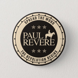 Paul Revere Pinback Button