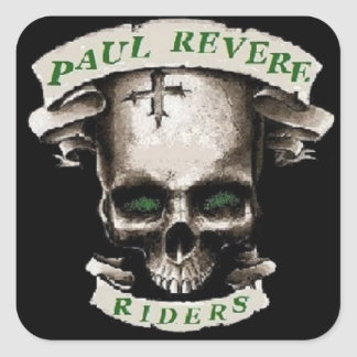 PAUL REVERE RIDES STICKER
