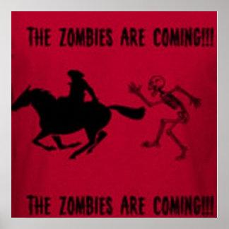 Paul Revere Zombie Poster