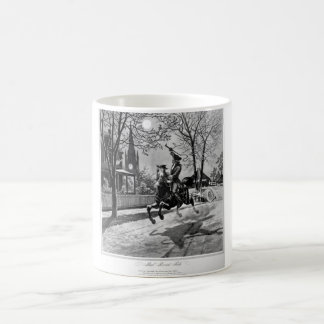 Paul Revere's Ride.  1775_War Image Coffee Mug