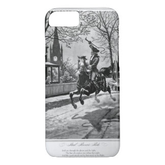 Paul Revere's Ride. 1775_War Image iPhone 8/7 Case