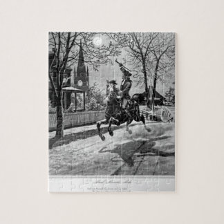 Paul Revere's Ride.  1775_War Image Jigsaw Puzzle