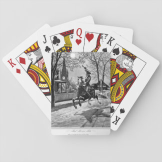 Paul Revere's Ride.  1775_War Image Playing Cards