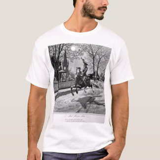 Paul Revere's Ride.  1775_War Image T-Shirt