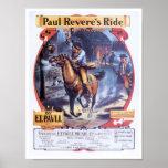 Paul Revere's Ride poster