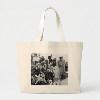Paul Robeson and Friends, 1940s Jumbo Tote Bag